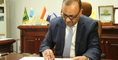 محافظ النجف يأمر بتشكيل لجنة تحقيقة حول بناء مدرسة اليرموك بقضاء المشخاب