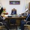 المحافظ يستقبل وفد منظمة المجموعة العراقية الكندية لمناقشة فرص الاستثمار في النجف