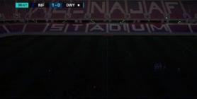 وزارة الشباب تحمل ادارة النجف مسؤولية انقطاع التيار الكهربائي في مباراة فريقها أمام الديوانية
