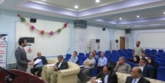 تخطيط النجف تقيم ورشة عمل لتنمية الاقتصاد المحلي ضمن اعداد ستراتيجية التنمية المحلية