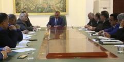 الياسري يترأس اجتماعا مع رؤوساء الوحدات الادارية لمناقشة موازنة 2019 والخدمات المقدمة للمواطنين