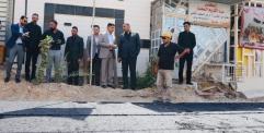 """الكرعاوي"""" مشروع شارع حي القدس هو ضمن مشاريع الـ (16) مليار وسيتم إكماله خلال الايام القادمة ."""