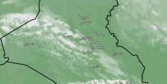 امطار خفيفة مع رياح تجتاح اغلب مناطق البلاد ابتداء من اليوم