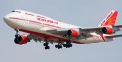 بعد 29 سنة توقف الطيران الهندي يهبط في مطار النجف الاشرف الدولي