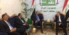 محافظ  النجف يعلن عن موافقة وزير الكهرباء على تثبيت الاجراء اليوميين على ملاك الوزارة