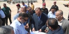 المحافظ يعلن البدء المراحل المتبقية لمشروع نفق مسلم بن عقيل(ع)