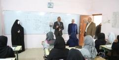 الياسري يزور اعدادية الامير للبنات ويلتقي بالكادر التدريسي والطلبة