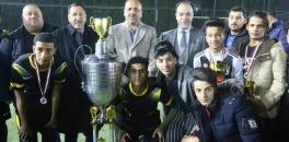 الياسري يحضر ختام بطولة المحبة والسلام للمدارس الأهلية بكرة القدم