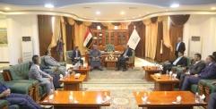محافظ النجف يستقبل رئيس منظمة أوبك ويناقشان ملفات اقتصادية مهمة