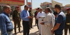 الياسري يوجه بلدية النجف الاشرف بتعبيد مجموعة من الشوارع المهمة في المحافظة