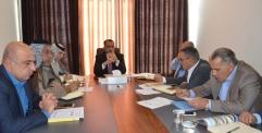 هاشم الكرعاوي  يترأس المجلس الزراعي الأعلى يعقد اجتماعه الدوري لمناقشة الخطة الزراعية وأهم الاستعدادات الخاصة بالموسم الزراعي الصيفي .