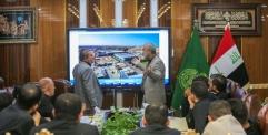 الأمين العام للعتبة العلوية المقدسة يناقش مع النخب الهندسية والفنية الإستعدادات المبكرة لزيارة الأربعين