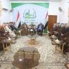 المحافظ يستقبل وفد من وجهاء وشيوخ عشائر محافظة كربلاء