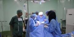 مستشفى الحكيم العام تجري 342 عملية جراحية الشهر الماضي