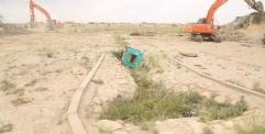 محافظ النجف يعلن عن رفع معسكر النداء بالكامل