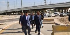 الياسري يتابع الاعمال النهائية لمشروع مجسر الرضوية قبيل الافتتاح