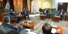 الياسري يستقبل مستشار محافظ البنك المركزي لمناقشة عدد من الملفات الاقتصادية المهمة
