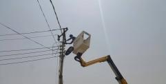 كهرباء النجف ترفع أكثر من (٩٥٠)حالة تجاوز على الشبكة الكهربائية والحملات مستمرة بشكل يومي