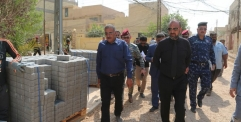 محافظ النجف يعلن  إن عام ٢٠١٩ ستكتمل شوارع حي ميسان في قضاء الكوفة