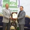 الياسري يكرم الشاعر زيد السلامي لختياره سفيرا للشعر الشعبي في العراق ونيله شهادة الدكتوراه الفخرية