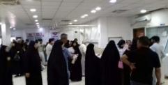 المؤسسات الصحية في النجف استقبلت 852 حالة طارئة مع حالة وفاة واحدة