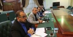 محافظ النجف يستقبل معاون بلدية طهران والوفد المرافق لهُ