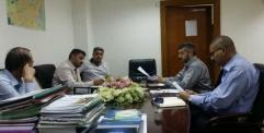مديرية تخطيط النجف تجتمع مع معاون المحافظ لإعداد استراتيجية التنمية المحلية