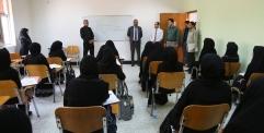 الياسري يزور معهد الصحة العالي في النجف