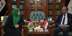 المحافظ يستقبل وكيل وزير الثقافة الافغاني والوفد المرافق له ويؤكد ان النجف لجميع المسلمين