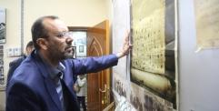 الياسري يزور مركز النجف الاشرف للتوثيق والتأليف والنشر