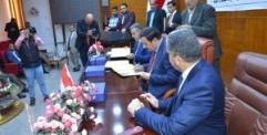 اتفاق تعاون صحي الكتروني مع جامعة الكوفة