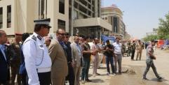 افتتاح شارع في النجف مغلق لأكثر من (10) سنوات