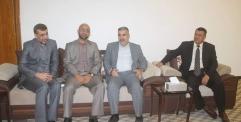 وفد البيت الثقافي النجفي يزور ديوان محافظة النجف ويؤكد على ضرورة التواصل مع كافة المؤسسات