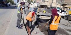 """بلدية النجف تنفذ مجموعة من الحملات استعداد لزيارة الامام علي """"ع"""" بمناسبة استشهاده"""