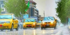 عواصف رعدية وأمطار في مختلف انحاء البلاد