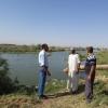موارد النجف المائية تتابع وصل الحصص المائية للاراضي الزراعية