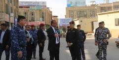 المحافظ يوجه الدفاع المدني والبلدية بجرد البنايات الآيلة للسقوط في المدينة القديمة والزام اصحابها بشروط السلامة