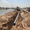 مديرية ماء النجف الاشرف تباشر بتنفذ خط ناقل رئيسي في منطقة الرضوية لمسافة اكثر من 3000م