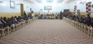 رياضيو النجف يزورون المحافظ ويؤكدون رفضهم لقرار مجلس المحافظة