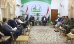 المحافظ وقائد الشرطة يناقشان اخر مستجدات الواقع الأمني في المحافظة