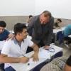 الياسري  يبارك انطلاق الامتحانات النهائية للثالث المتوسط