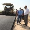 المحافظ يعلن اكمال مشروع الطريق الريفي الرابط بين الحيدرية والكفل
