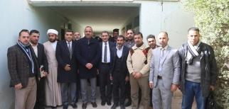 الياسري يزور اعدادية المربد ويؤكد ضرورة الاهتمام بشريحة الشباب لانهم مستقبل العراق