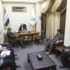 محافظ النجف يستقبل لجنة من وزارة الداخلية