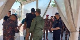 النجف تنفذ  الخطة الامنية الخاصة بزيارة اربعينية الامام الحسين (ع) وتلقي القبض على (5)  اشخاص مطلوبين للقضاء