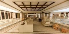 نسب إنجاز متقدمة في بناية الجناح الإداري في مشروع صحن فاطمة الزهراء (عليها السلام)