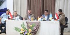 الياسري يترأس اجتماعا مع مسؤولي بلدية النجف لمناقشة تفعيل الموارد المحلية واستثمارها في تطوير الخدمات