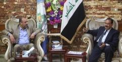 الياسري يلتقي رئيس واعضاء مجلس المحافظة