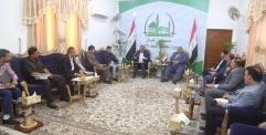 الياسري يترأس اجتماعاً مع لجنة تخصيص الاراضي للبدء بعملية التوزيع على المشمولين
