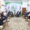 المحافظ يستقبل وفد نادي اربيل ويؤكد النجف لجميع العراقيين وهي مدينة حب واخوة وسلام